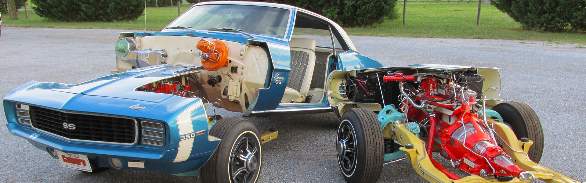 1969 Chevrolet Camaro SS Cut Away Display Car