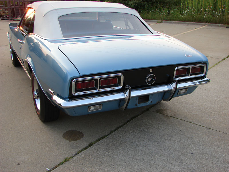 1968 Chevrolet Camaro Rs Ss 396 325hp Convertible