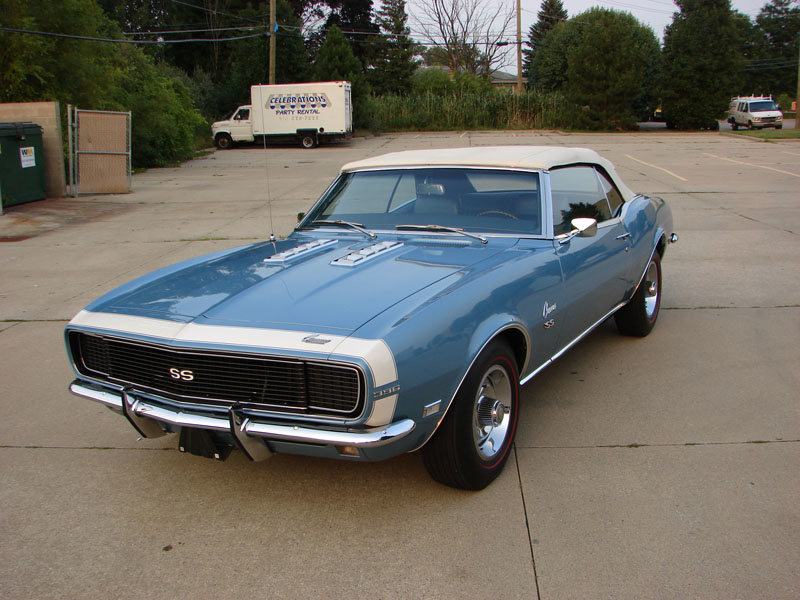 1968 Chevrolet Camaro Rs Ss 396 325hp Convertible