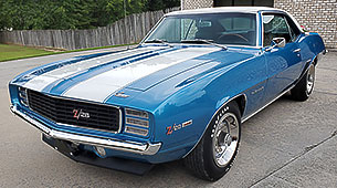 Car for Sale - 1967, 1968, 1969 Camaro Parts - NOS, Rare